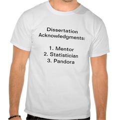 October          Discuss your Dissertation